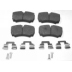 BS 1565 , BRAKE PADS - REAR DISC