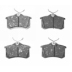 BS 5520 , BRAKE PADS - REAR DISC
