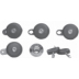 DP 609 , LOCK SET-COMPLETE VEHICLE (5 PCS)