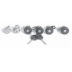 DP 610 , LOCK SET-COMPLETE VEHICLE (6 PCS)