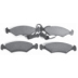 DP 7121 , BRAKE PADS - FRONT DISC