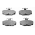 DP 722 , BRAKE PADS - REAR DISC