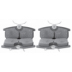 DP 723 , BRAKE PADS - REAR DISC