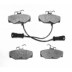 DP 726 , BRAKE PADS - REAR DISC